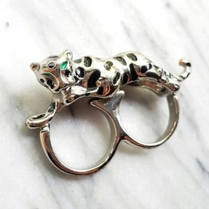 Jewelry - Cat Double Ring